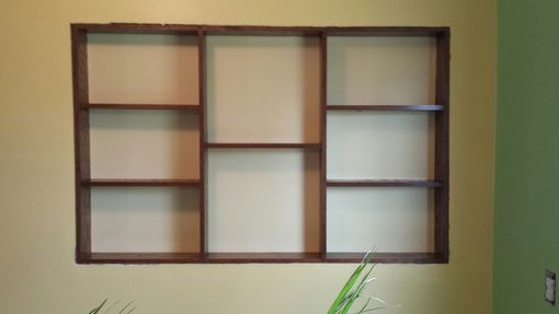 Custom Made Built In Wall Display Unit