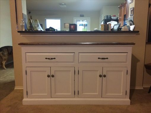 Custom Made Custom Kitchen Buffet