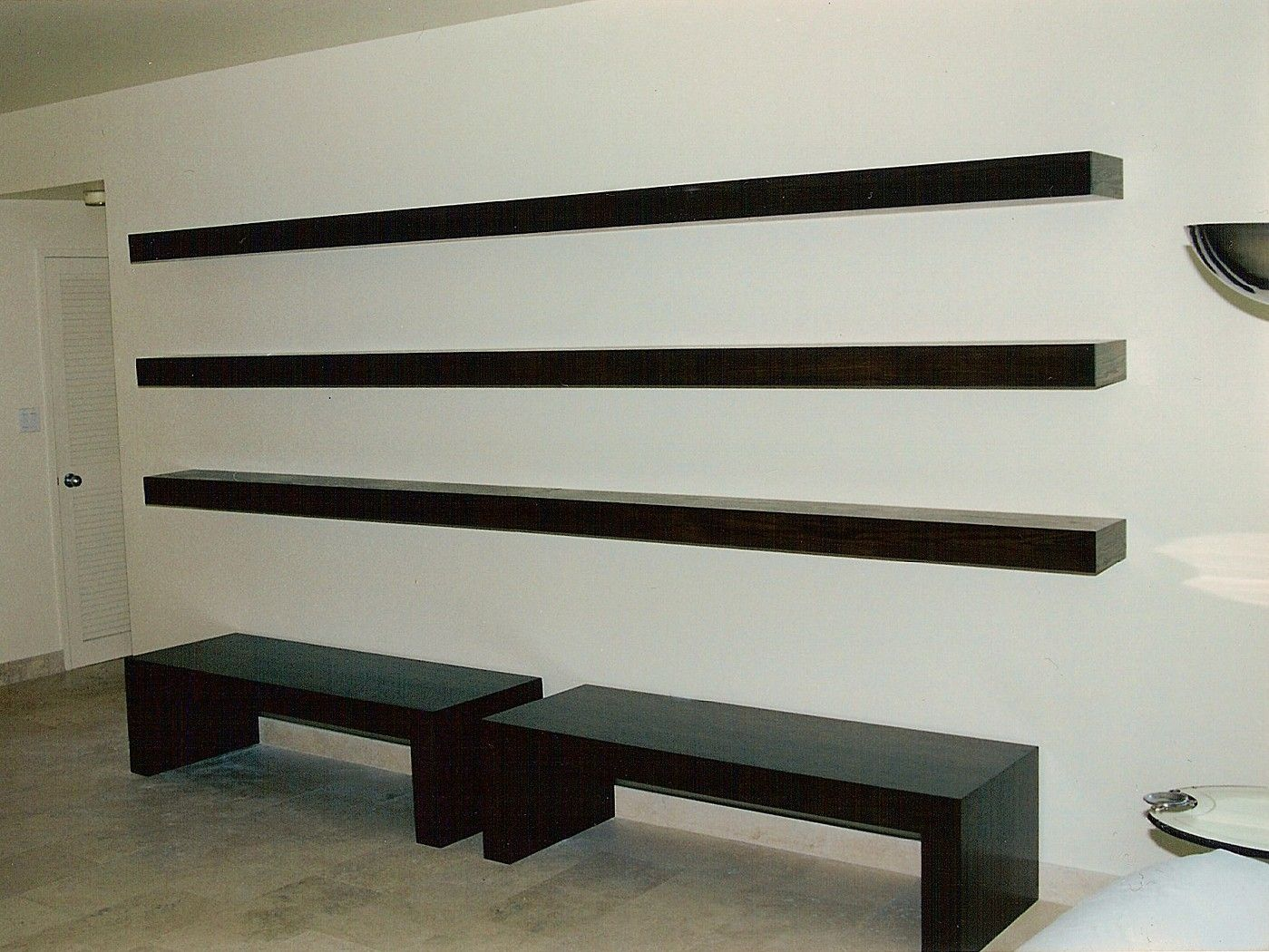 Custom Floating Shelves By Ezequiel Rotstain Design
