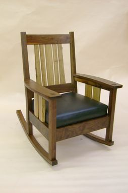Custom Made San Souci Rocking Chair