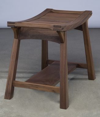 Custom Made Low Perching Stool With Handles