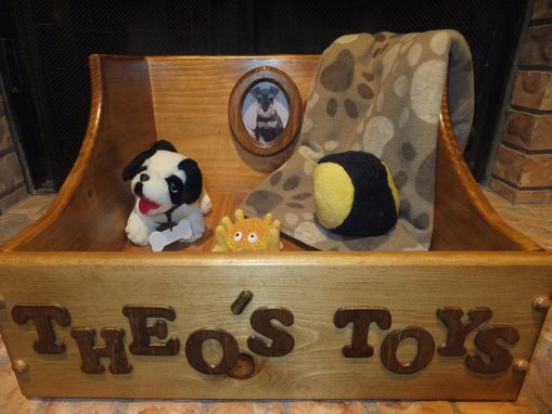 Custom Made Pet Toy Box