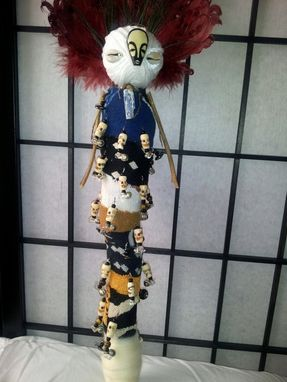 Custom Made Ooak Spirit Of The Ancients Cleansing & Protection Shamanic Spirit Doll© 2013