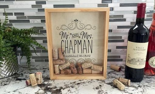 Custom Made Personalized Wine Cork Keepers - Medium