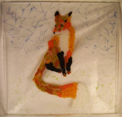 Custom Made Mosaic Animals In Fused Glass