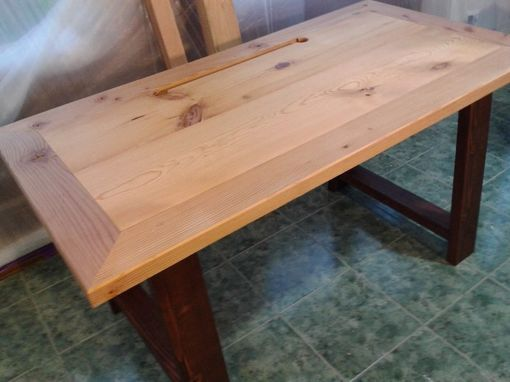 Custom Made Industrial Mill-Inspired Reclaimed Wood Desk