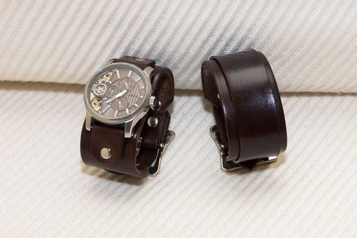 Custom Made Matching Set Cuff Bracelet And Watch Band