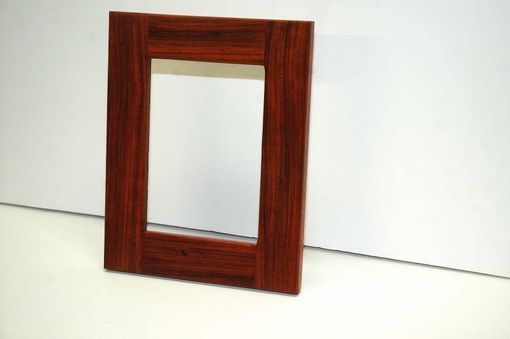 Custom Made Padauk Standing Picture Frame
