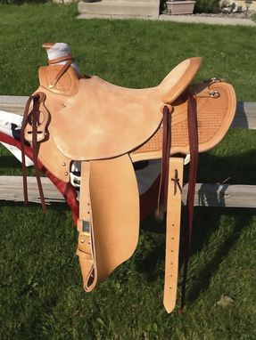 Custom Made Custom Western Saddle