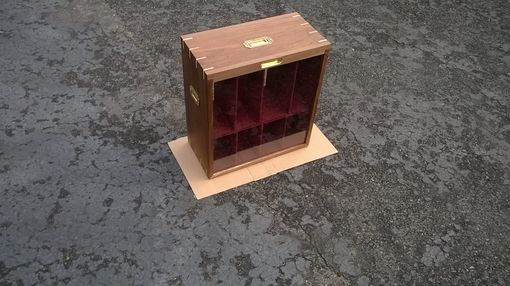 Custom Made Display Cases For Large Chess Pieces
