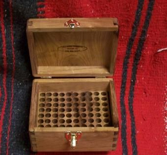 Hand Made Mesquite Ammo Box By J Amp J Wood Products