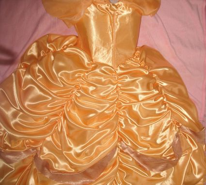 Custom Made Ballroom Dress From Satin With Accessories