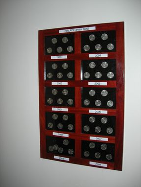 Custom Made Coin Display Cases