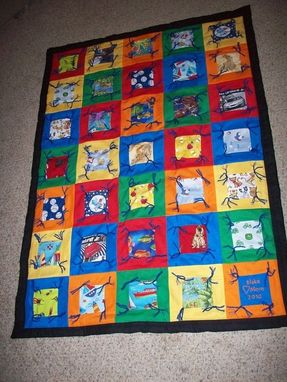 Custom Made Search & Find Quilt