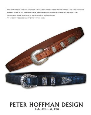 Custom Made Handmade Belts