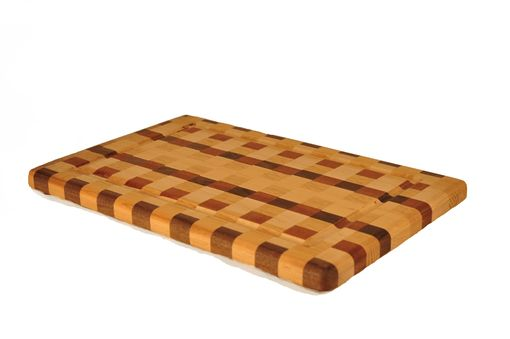 Custom Made Large Checked Cutting Board