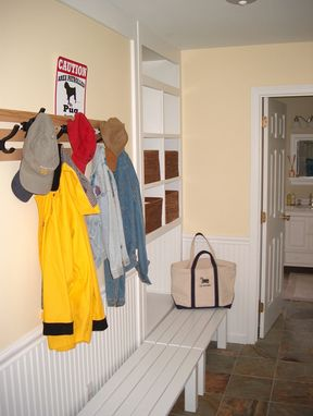 Custom Made The Vermont Mudroom