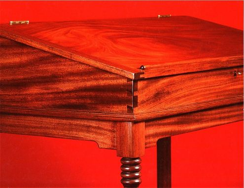Custom Made Stand-Up Writing Desk