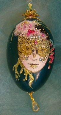 Custom Made Mask Goose Egg