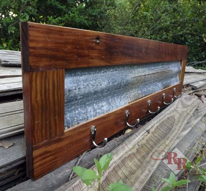 Custom Made Rustic Coat Rack / Hat Rack / Towel Rack