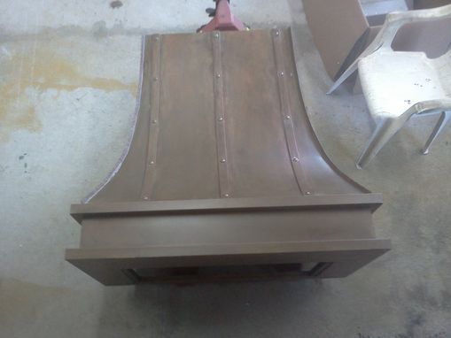 Custom Made Copper Range Hoods