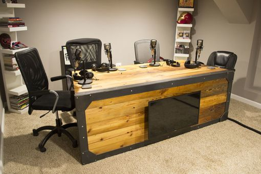 Custom Made Recording Desk