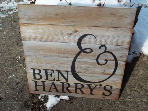Custom Made The Barn Wood Sign