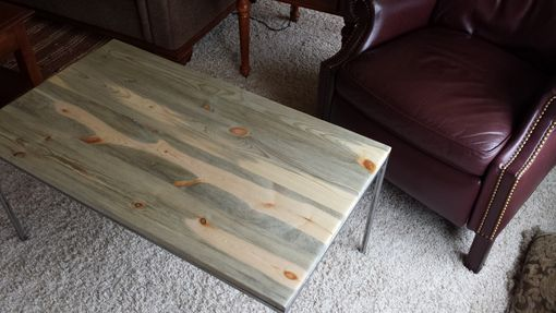 Custom Made Beetle Kill Coffee Table
