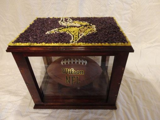 Custom Made Helmet, Jersey, Football, Trophy, Etc. Cases