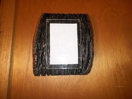 Custom Made Distressed Wood Picture Frame