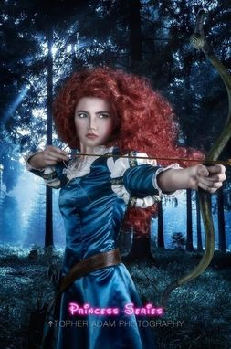 Custom Made Merida Version A Brave Inspired Costume Wig Adult Screen Quality