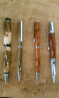 Custom Made Hand Made Fountain And Roller Ball Pens And Pencils