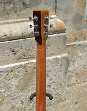 Custom Made Pinol Guitars And Ukuleles Solid Cocobolo Rosewood Body/Mahogany Top ( Free Shipping)