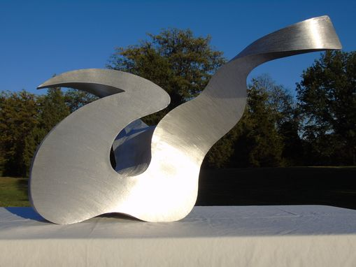 Custom Made Abstract Metal Sculpture