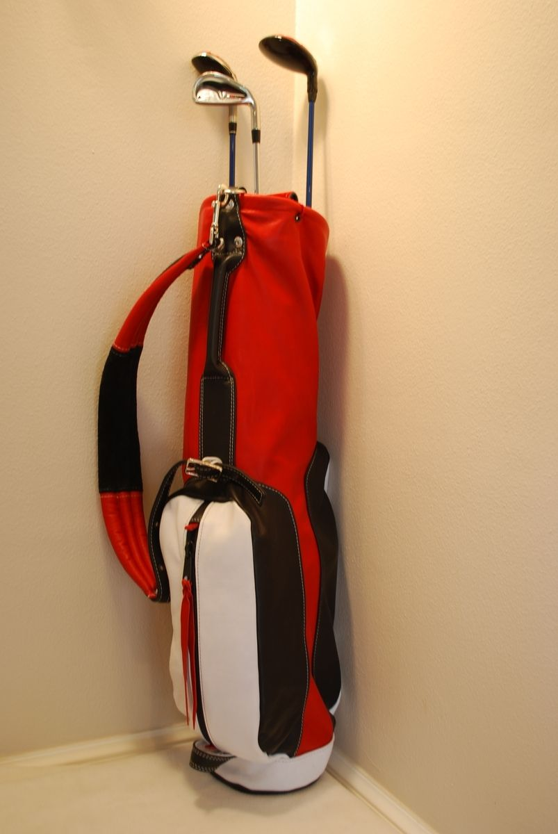 Custom Leather Golf Bag By Sergeant Minor Design