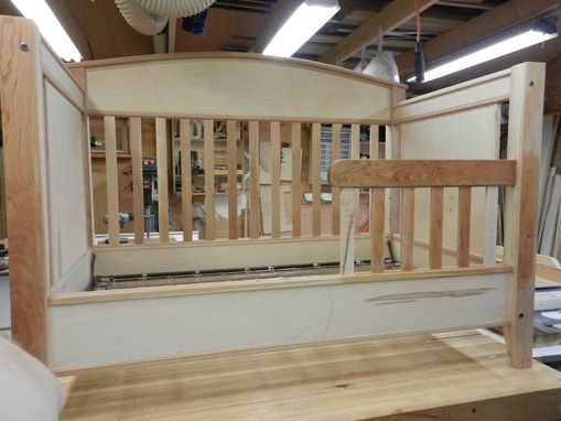 Custom Made Three In One Crib-Bed