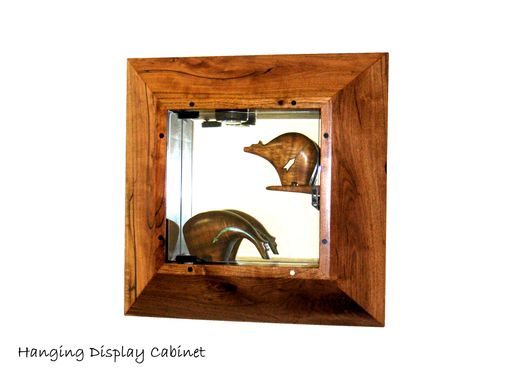 Custom Made Hanging Display Cabinet