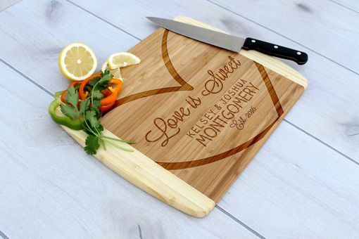 Custom Made Personalized Cutting Board, Engraved Cutting Board, Custom Wedding Gift – Cb-Bam-Montgomery