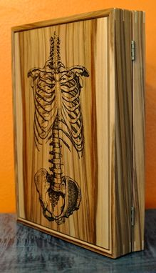 Custom Made Skeleton Ipad Case