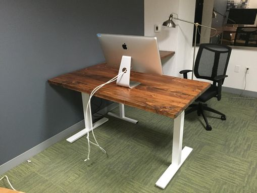 Custom Made Custom Sit Stand Desk