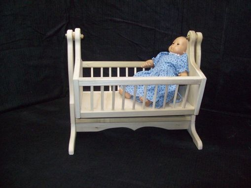 Custom Made Handcrafted, Custom Made Cradle For Bitty Baby