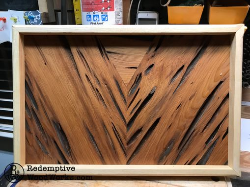 Custom Made Custom Wave Wall Art From Hardwoods