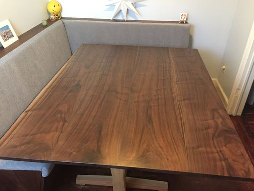 Custom Made Japanese Nakashima Inspired Dining Table