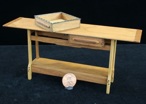 Custom Made Arts And Crafts Furniture Miniatures