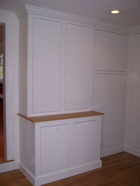Custom Made Mud Room Built-Ins