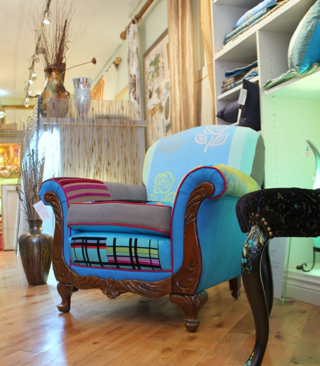 Hand Crafted Upholstered Vintage 1920'S Chairs,Customs