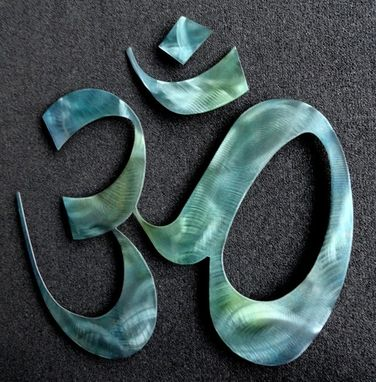 Custom Made Hand Made Om For The Home