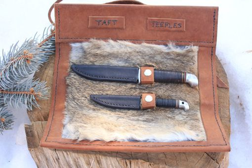 Custom Made Knife Roll