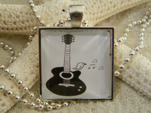 Custom Made Custom Glass Bezel Pendant/Necklace