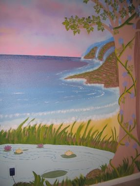 Custom Made Princess Garden Mural